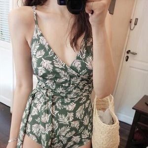 Other - Wrapped green one piece Swimwear